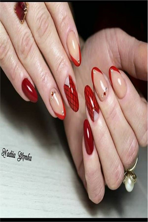 30+ Fabulous Red Nail Art To Impress Anyone – Fashonails