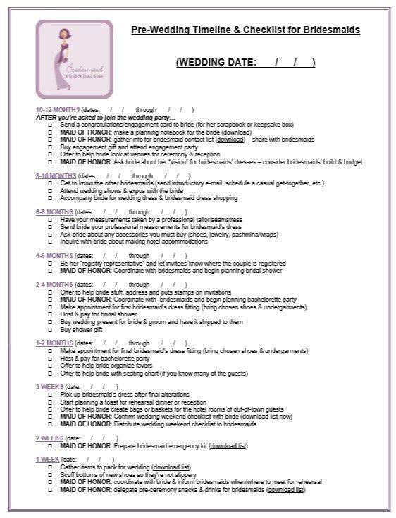 Wedding Contact List Template Sample Contact List Template 12 - bridal shower checklist