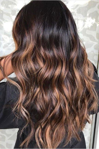 Beachy Highlights That Make Every Hair Color Look Perfectly Sunkissed: Rose Brown Balayage