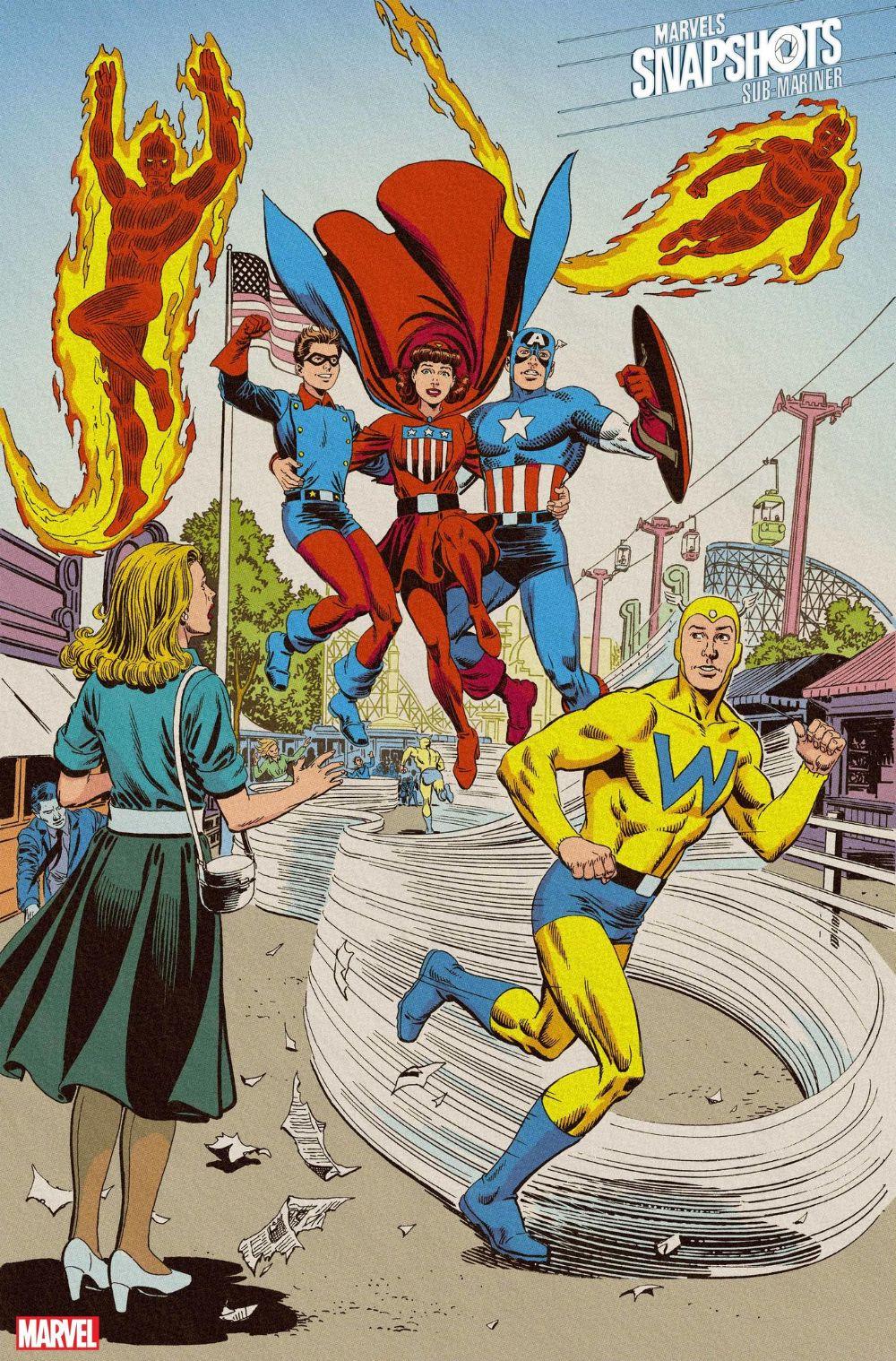 Namor's Beginnings Get the Spotlight in 'Sub-Mariner: Marvels Snapshots'