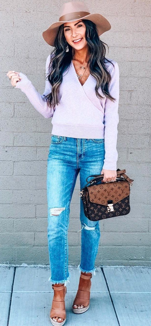 Louis Vuitton crossbody bag #spring #outfits