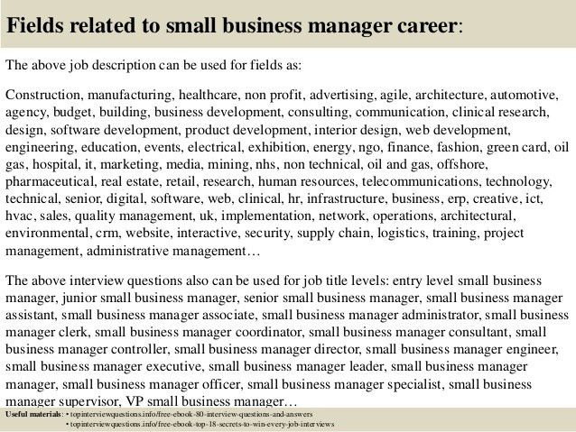 business manager job description concepciontarlacph - business manager job description