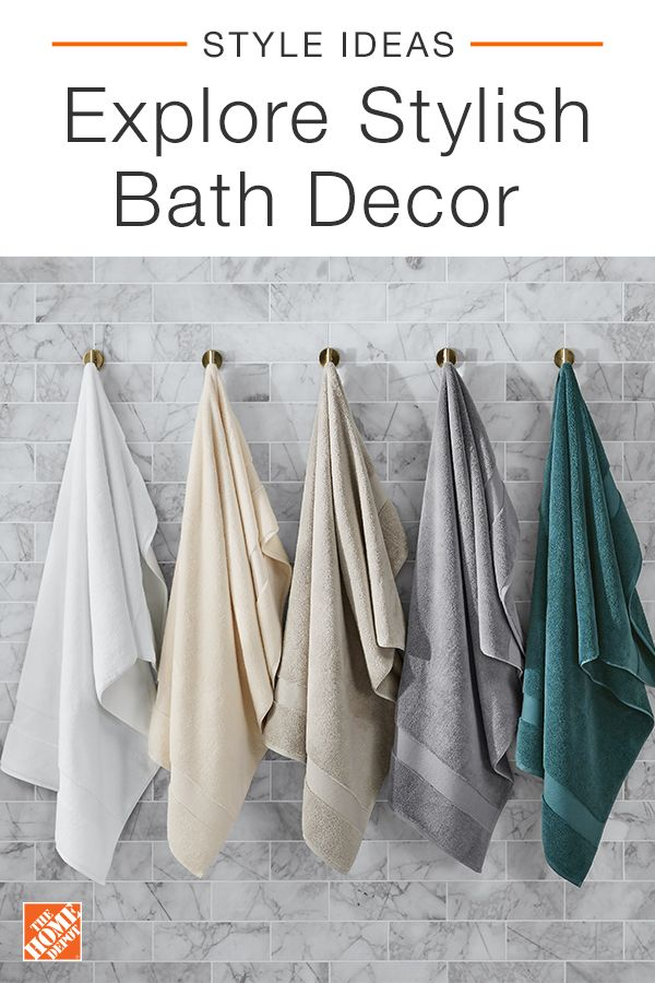 The Home Depot has a wide assortment of bath towels sets, hand towels and rugs available online at homedepot.com. Our ultra soft and absorbent towels and bath cloths are offered in different colors and styles. Find comfort in choosing the best set for your home. Shop our seamless online experience and explore collections of quality brands and products at affordable prices. Free delivery on select items over $45. Click through to shop our bath towel sets, available online at The Home Depot.