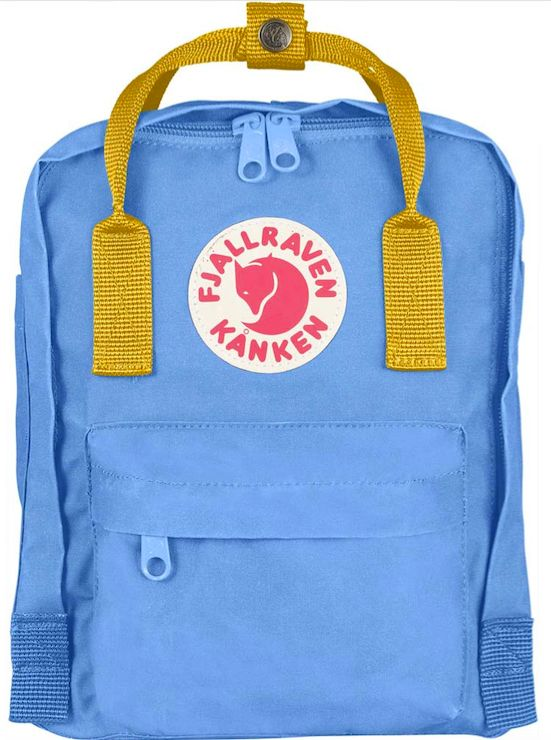 The Fjallraven Kranken Mini is perfect for little ones or adults who prefer a small everyday backpack.
