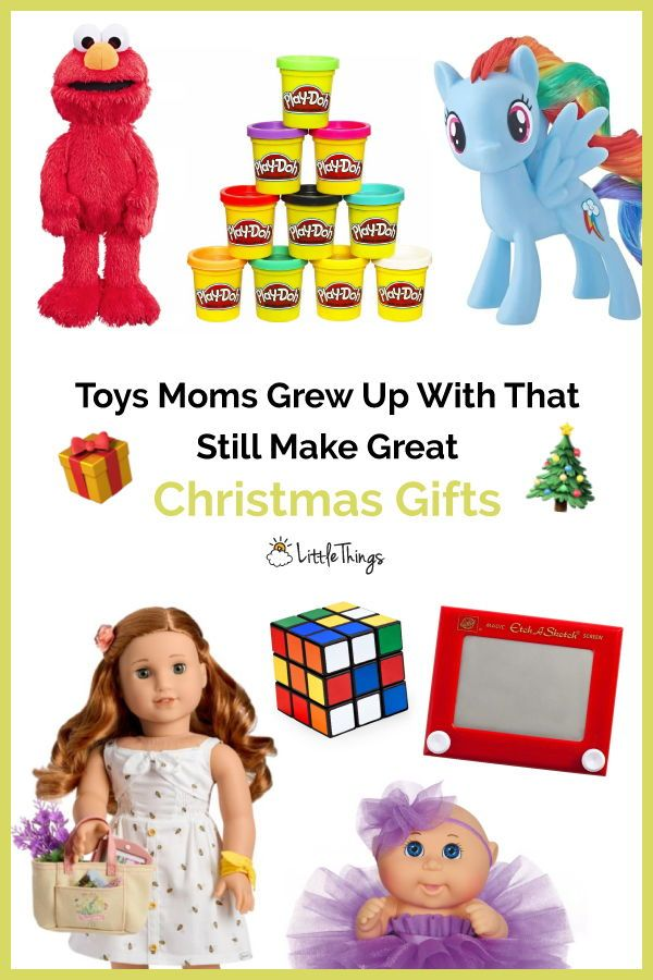 Toys Moms Grew Up With That Still Make Great Christmas Gifts: Some toys never go out of style. Check out the toys and get inspired. (And nostalgic.) #christmas #christmasgiftideas #gifts #toys