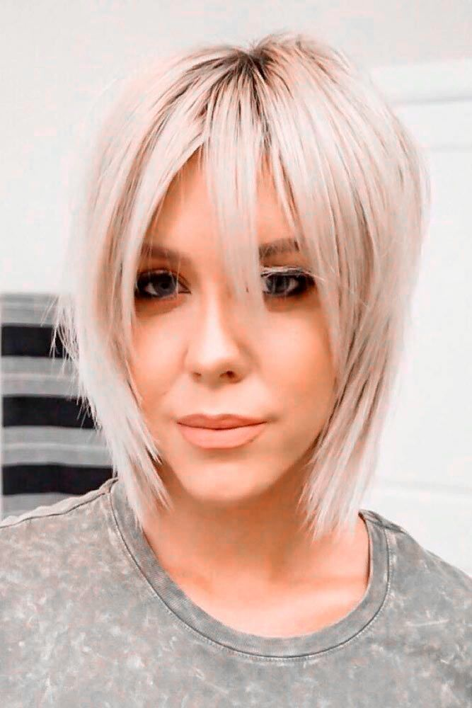 Short Bob Haircuts For Long Faces #longfaceshape #blondehair ★ Short bob haircuts are quite versatile and can compliment almost everyone. Our photo gallery will give you some inspo and help pick your next cut. #glaminati #lifestyle #shortbobhaircuts