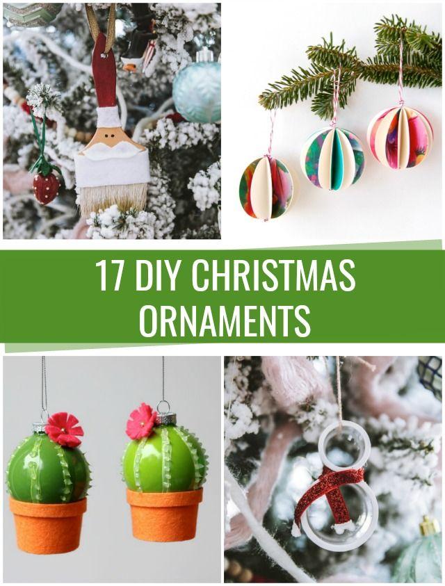 DIY Christmas Ornaments – C.R.A.F.T.