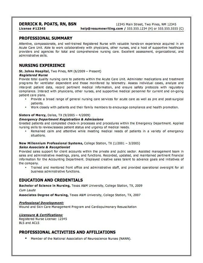 Awesome Cna Resumes Examples Cna Resume Sample Cna Resume Template