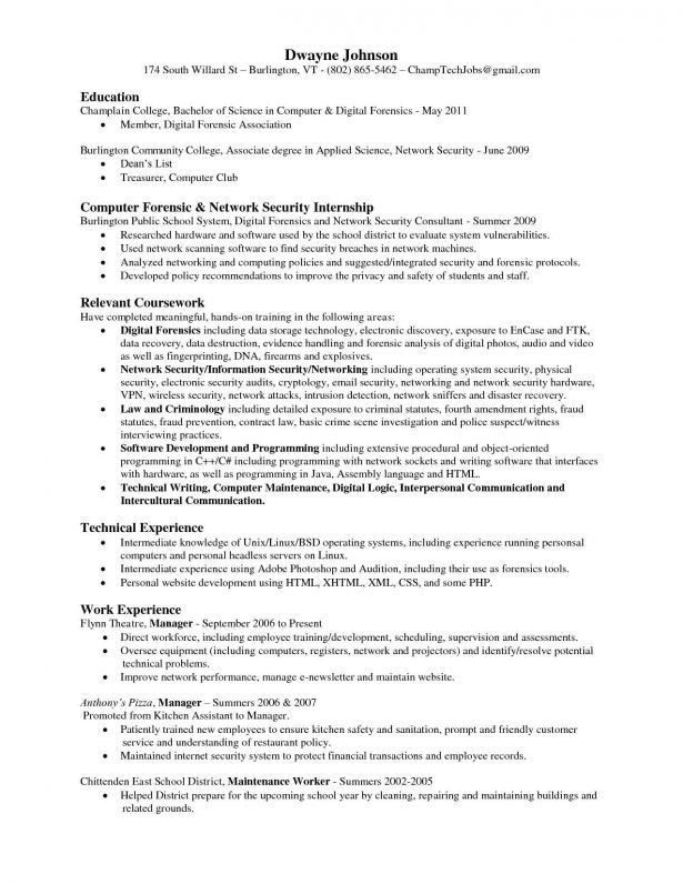 Network Security Consultant Cover Letter Sarahepps