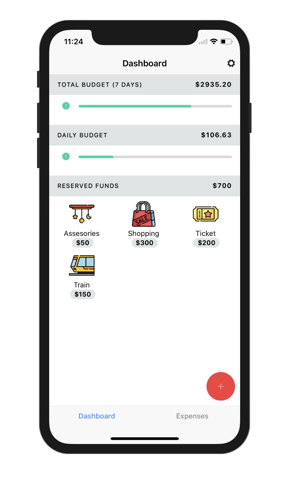 Baajet  Budget tracking made easy for travellers.