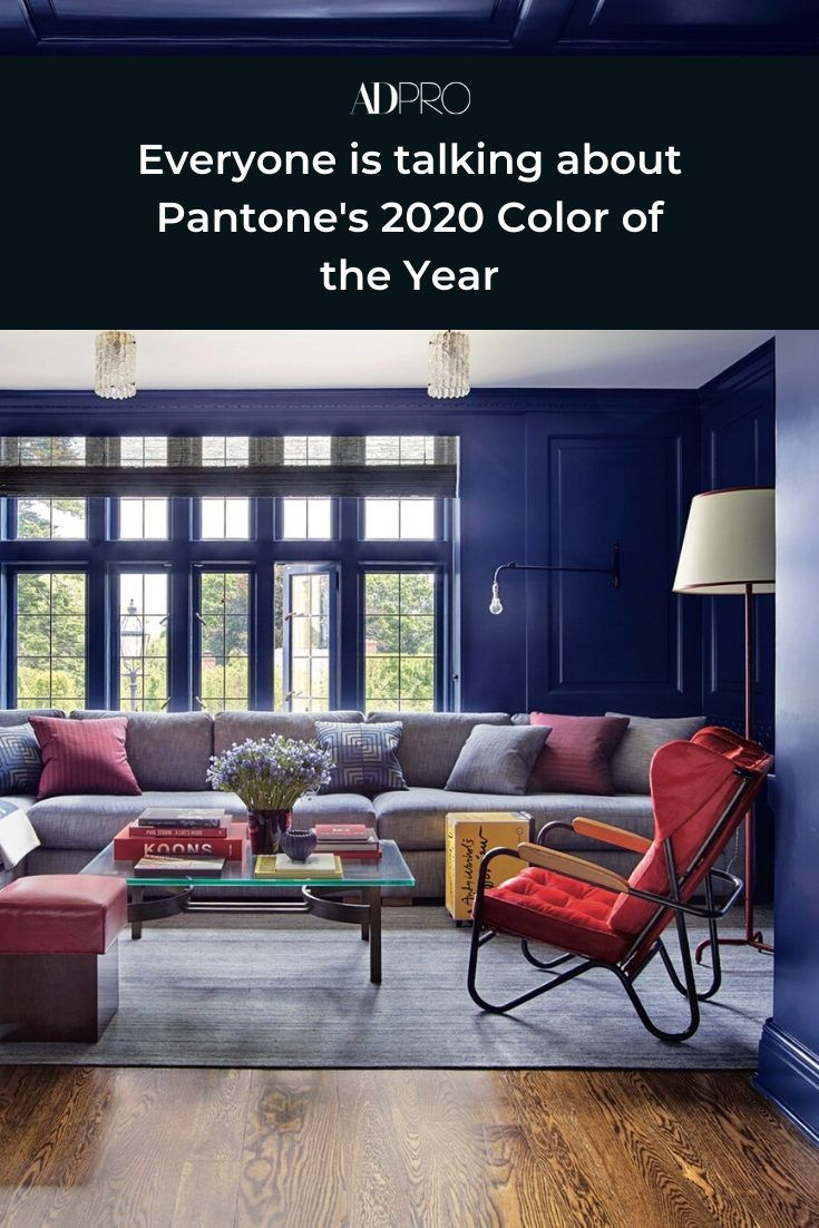 Everyone is talking about Pantone's 2020 Color of the Year