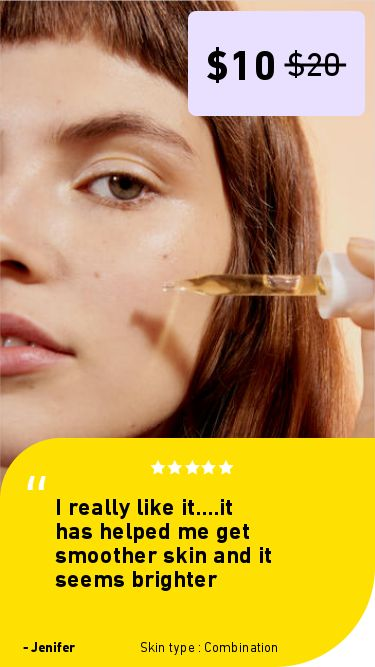 Serum for acne scars for Combination skin. Shero Science skin care review. Power C Brightening Serum: Vitamin C serum. I really like it....it has helped me get smoother skin and it seems brighter