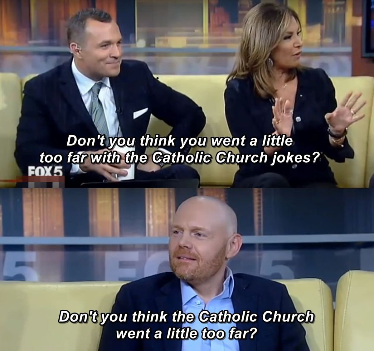 Never forget the moment Bill Burr was a hero.