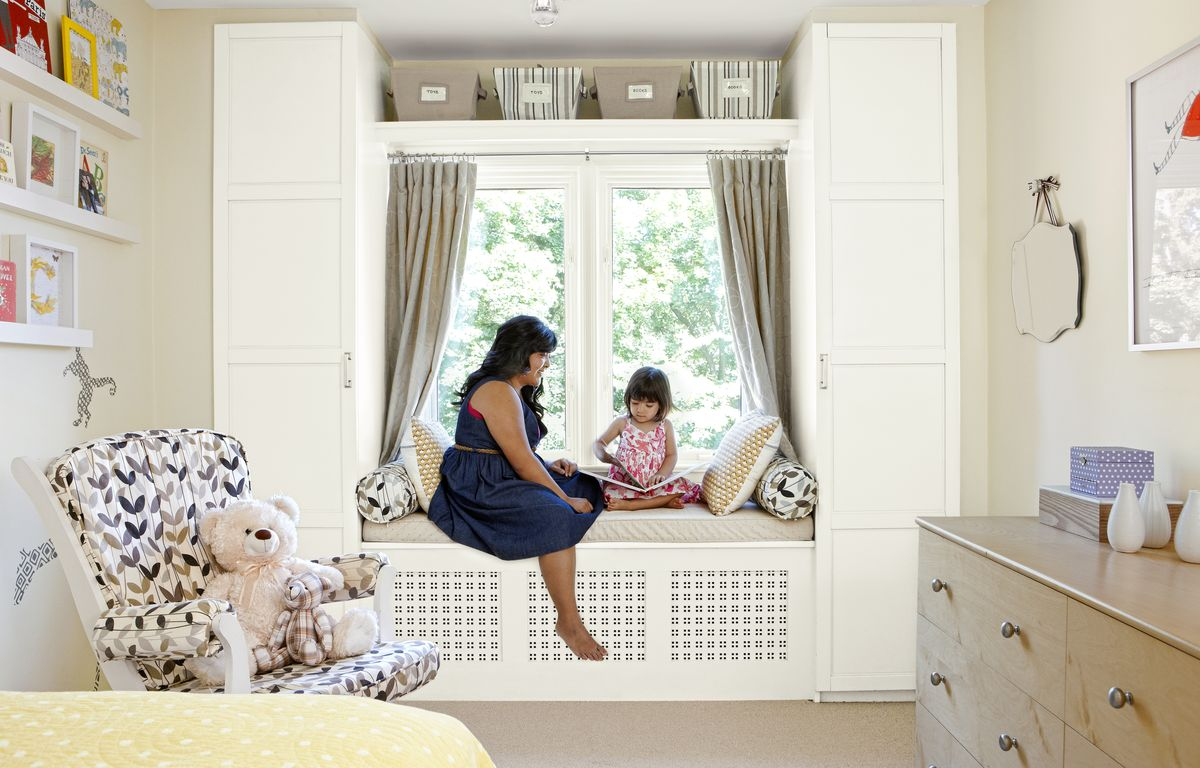 IKEA Wardrobe and Window Seat Hack