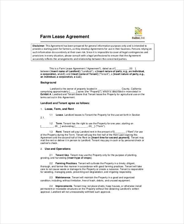 Lease Templates Free Free Lease Rental Agreement Forms Ez - lease template word