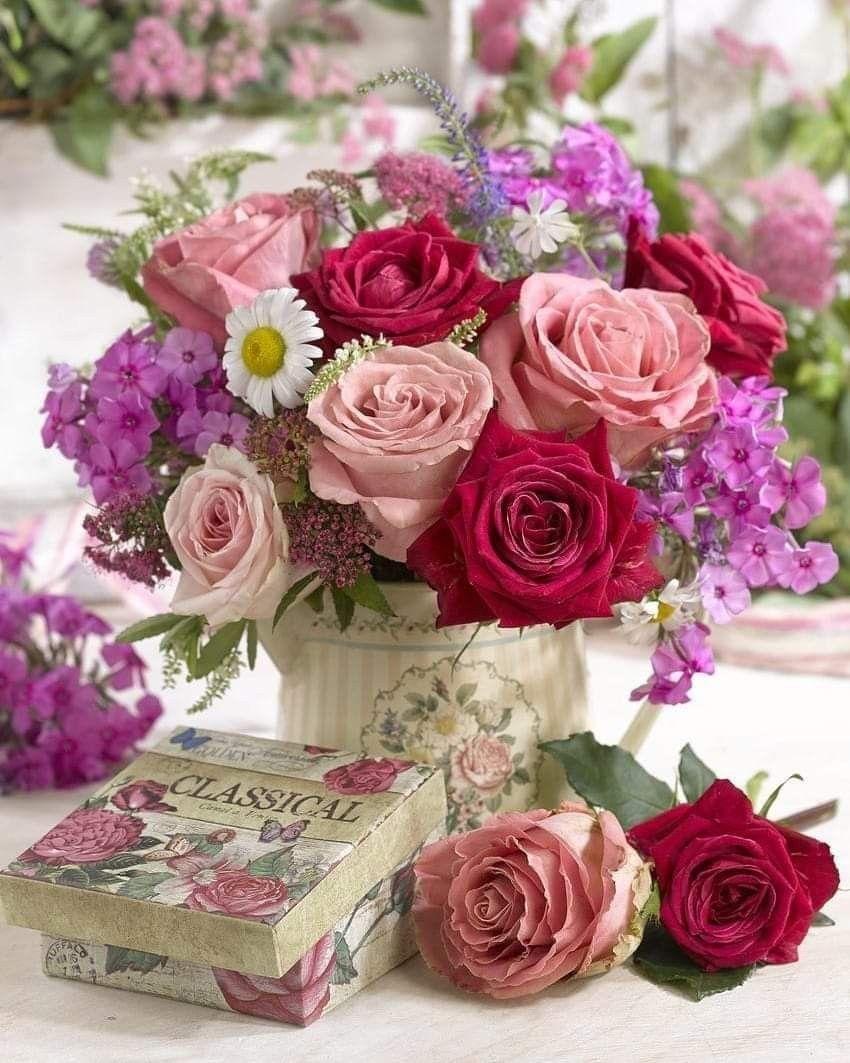Birthday flowers bouquet, Beautiful flower arrangements