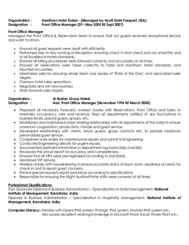 examples of hospitality resumes room attendant resume example