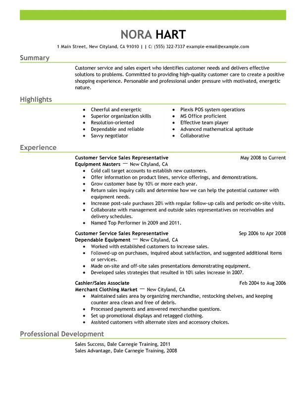 Describe Customer Service Experience How To Make Your Customer - resume examples for customer service jobs