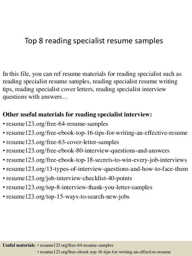 trade specialist cover letter - Trade Specialist Sample Resume