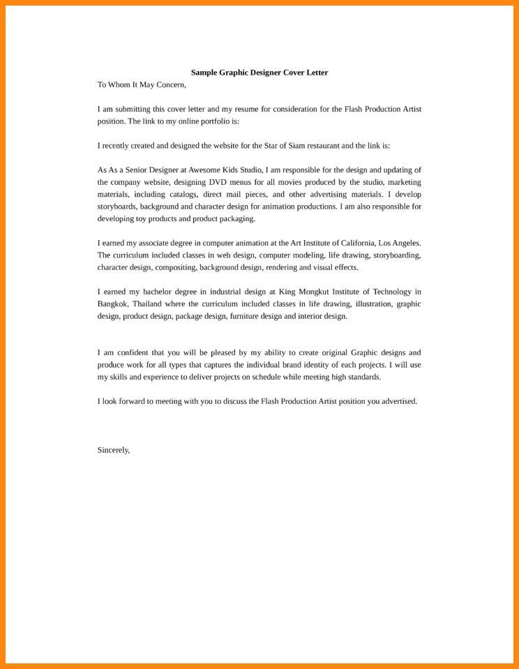 3d Animator Cover Letter Cvresumeunicloudpl