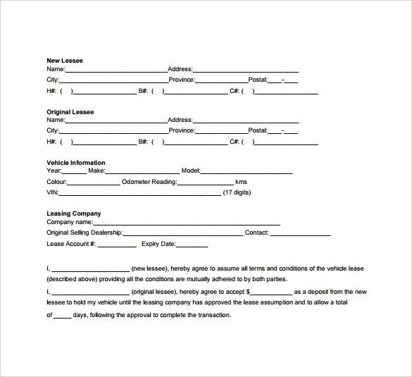 Sample Of Contract Agreement Between Two Companies Non Disclosure - sample vehicle lease agreement