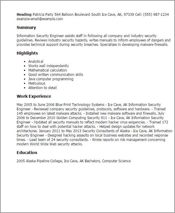 Hart Security Officer Sample Resume Inspiration resume letter for ...