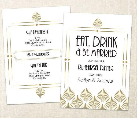 Free Dinner Invitation Templates Printable 39 Printable Dinner - dinner invitation template free