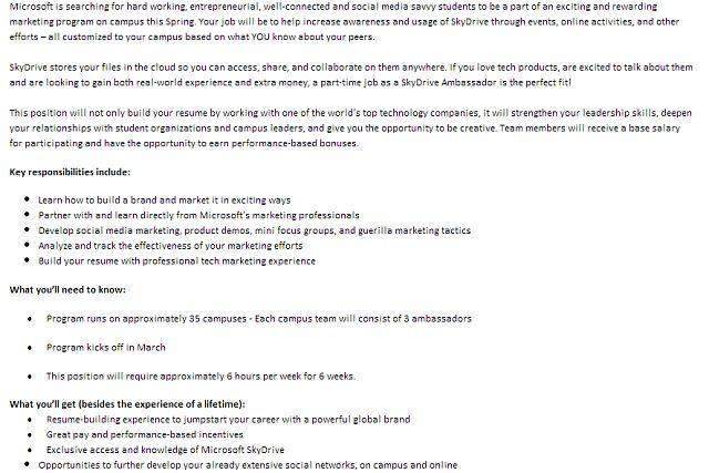brand ambassador resume sample node2003-cvresumepaasprovider