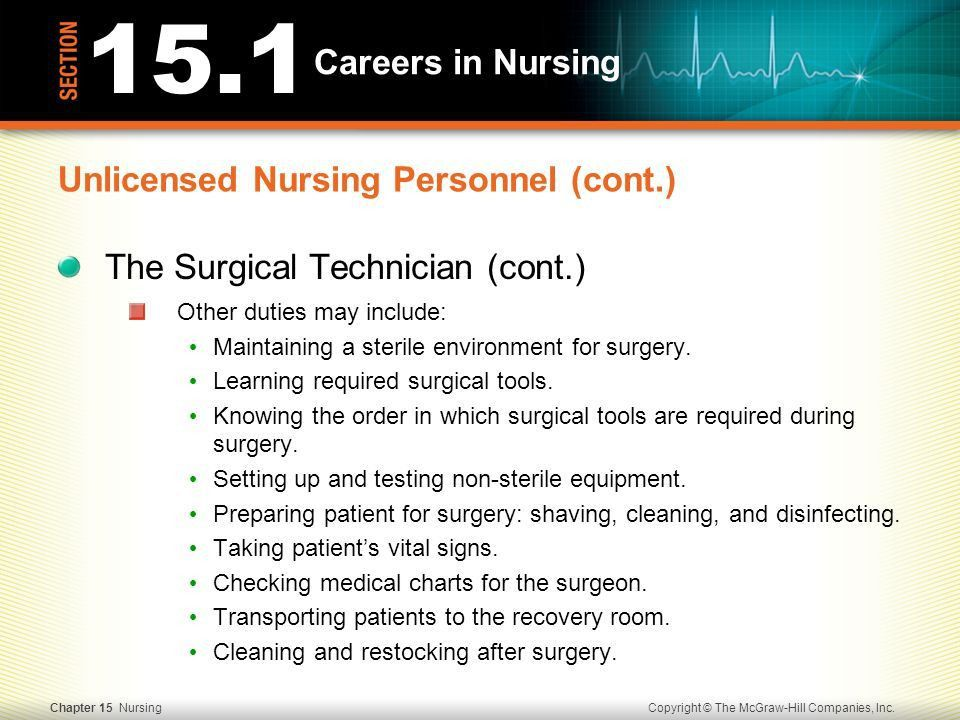 Surgical technologist job description surgical tech training - surgical tech job description