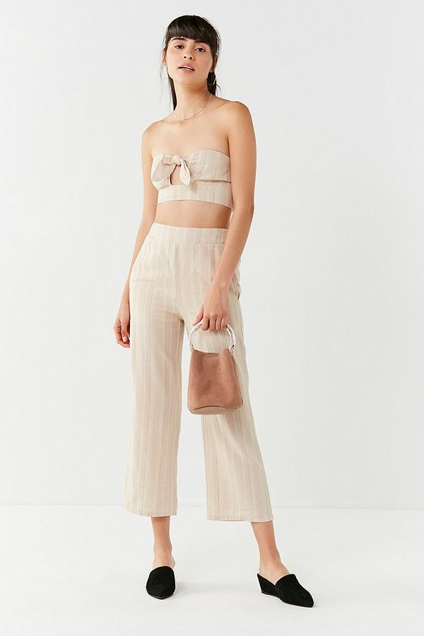 UO crop top and wide legs set