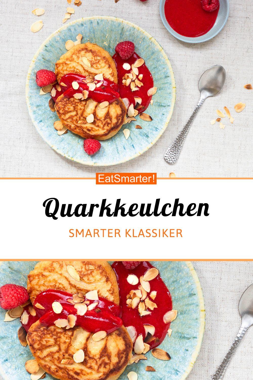 Quarkkeulchen mit Himbeersauce | eatsmarter.de #immunsystem #quarkkeulchen #smarterezepte