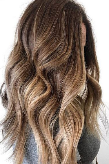 Trendy Hair Color Ideas 2017/ 2018 : beautiful color melt