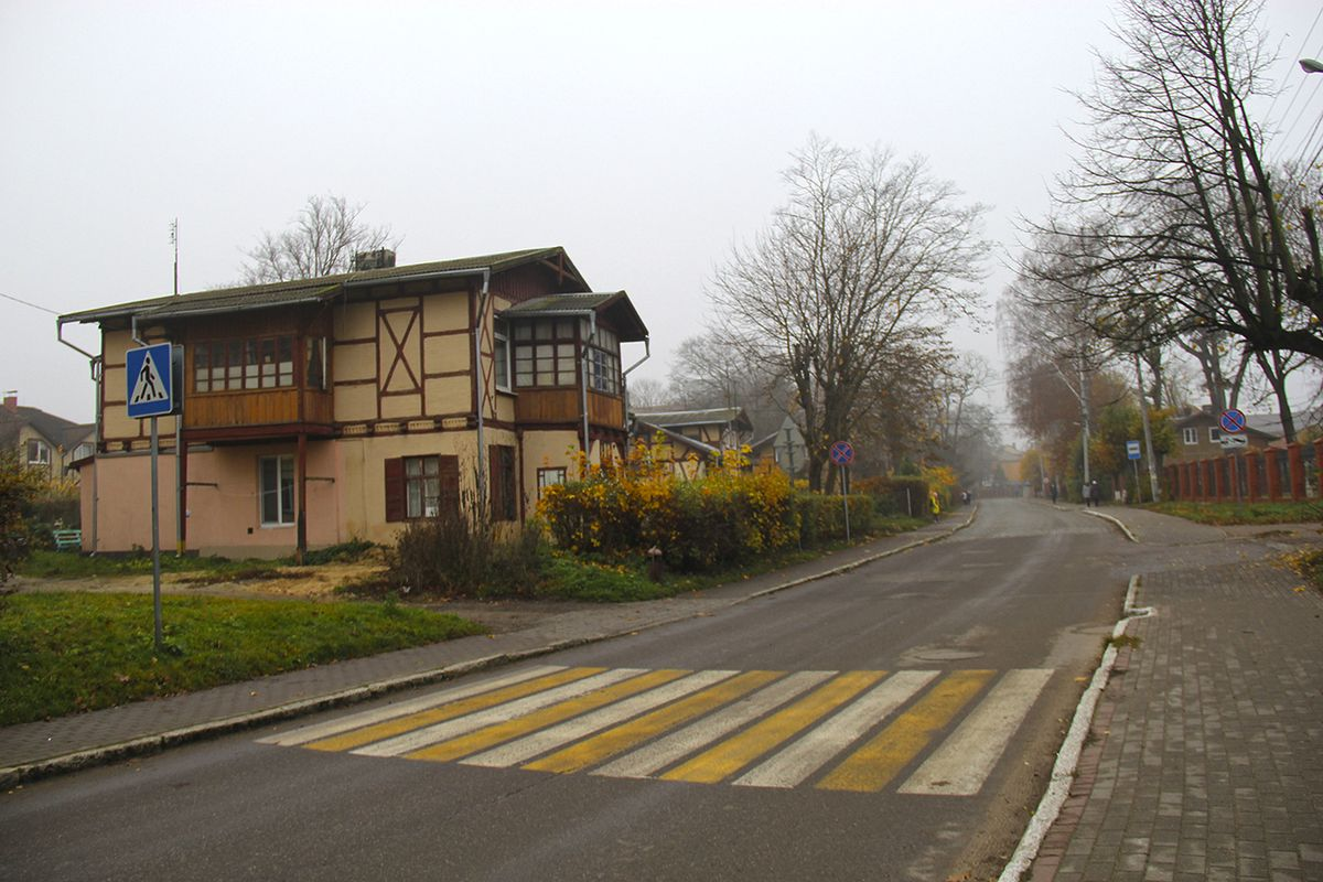 Старые немецкие дома с фахверками в Пионерском. Фото: Evgenia Shveda