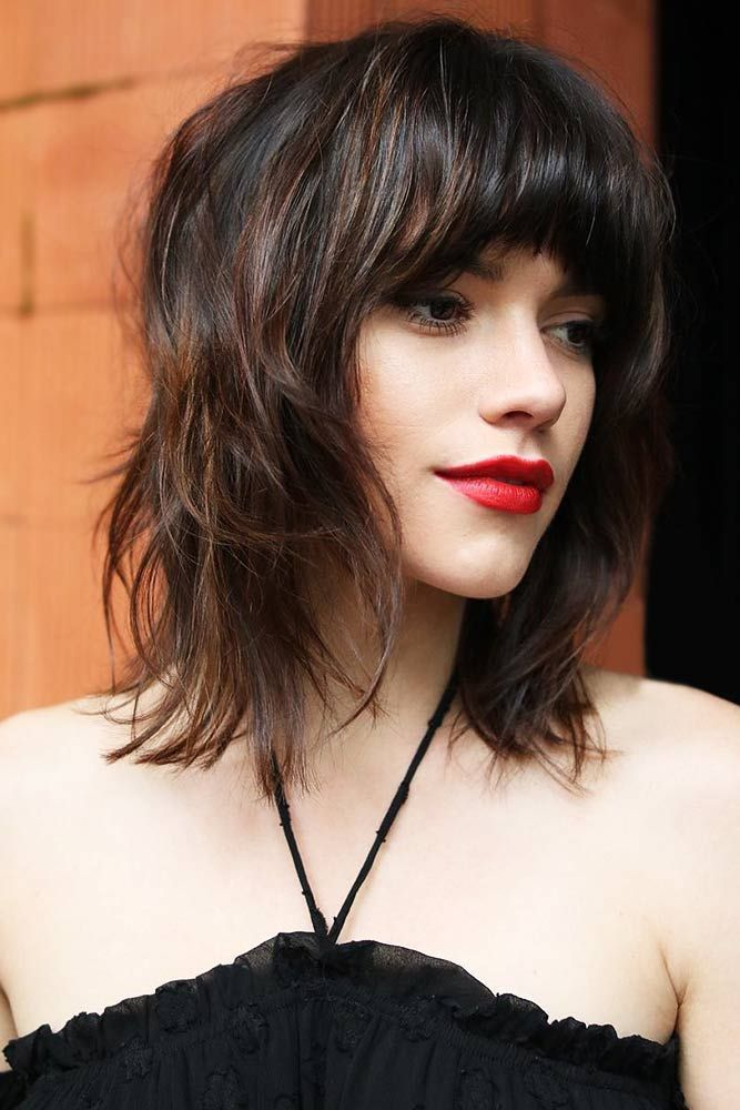 "Medium Bob With Light Ends And Thick Bangs <a class=""pintag"" href=""/explore/mediumhair/"" title=""#mediumhair explore Pinterest"">#mediumhair</a> <a class=""pintag"" href=""/explore/bangs/"" title=""#bangs explore Pinterest"">#bangs</a> <a class=""pintag"" href=""/explore/shaggy/"" title=""#shaggy explore Pinterest"">#shaggy</a> ★ If you want to take your cut to the next level, why don't you leave it up to the shag haircut? The iconic ideas for short, medium, and long hair are here for you: choppy shaggy bob, layered wavy pixie with bangs, modern cuts for fine hair and lots of ideas to try in 2018. ★ See more: <a href=""https://glaminati.com/shag-haircut/"" rel=""nofollow"" target=""_blank"">glaminati.com/…</a> <a class=""pintag"" href=""/explore/glaminati/"" title=""#glaminati explore Pinterest"">#glaminati</a> <a class=""pintag"" href=""/explore/lifestyle/"" title=""#lifestyle explore Pinterest"">#lifestyle</a><p><a href=""http://www.homeinteriordesign.org/2018/02/short-guide-to-interior-decoration.html"">Short guide to interior decoration</a></p>"