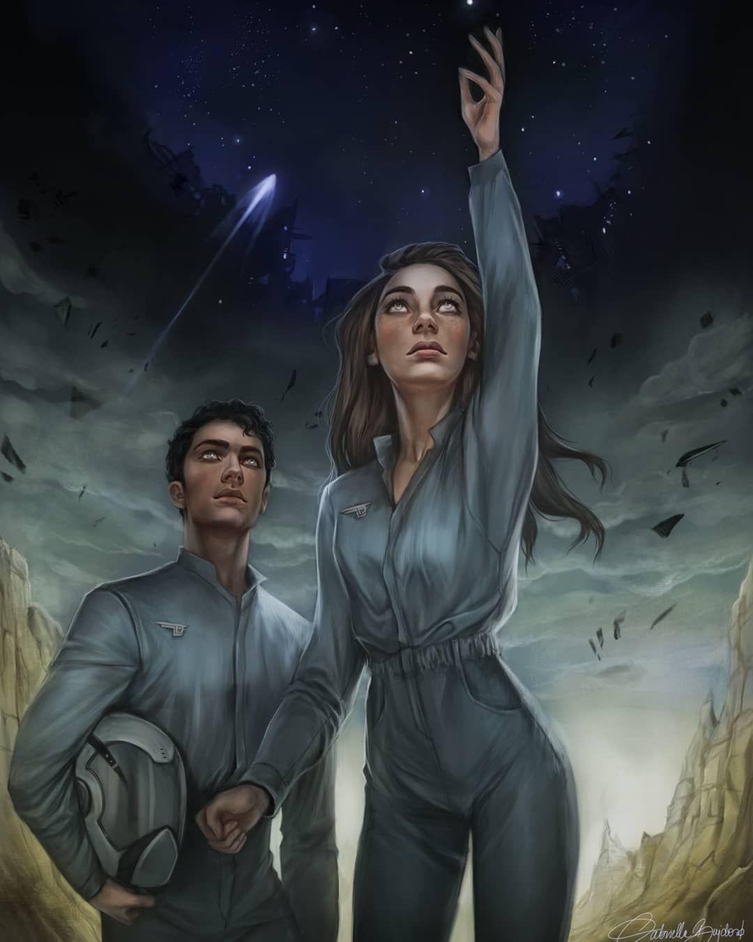 Spensa and Jorgen 🛰 by Gabriella Bujdosó
