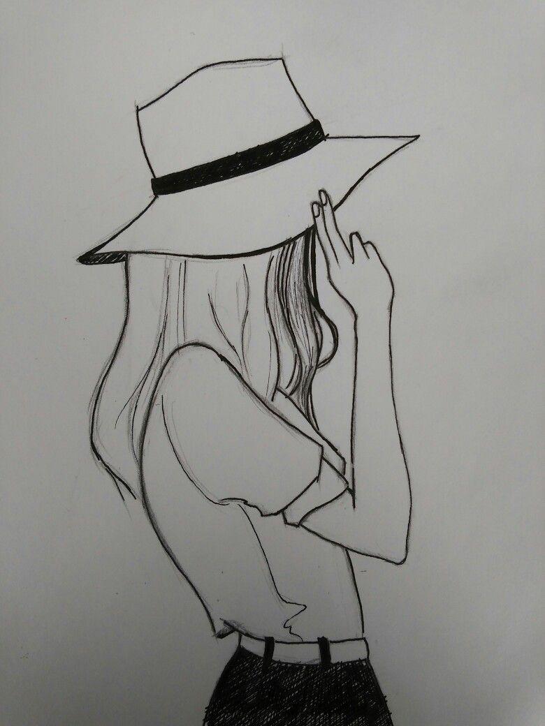 Xolgaix Girl Drawing In 2019 Girly Drawings Girl