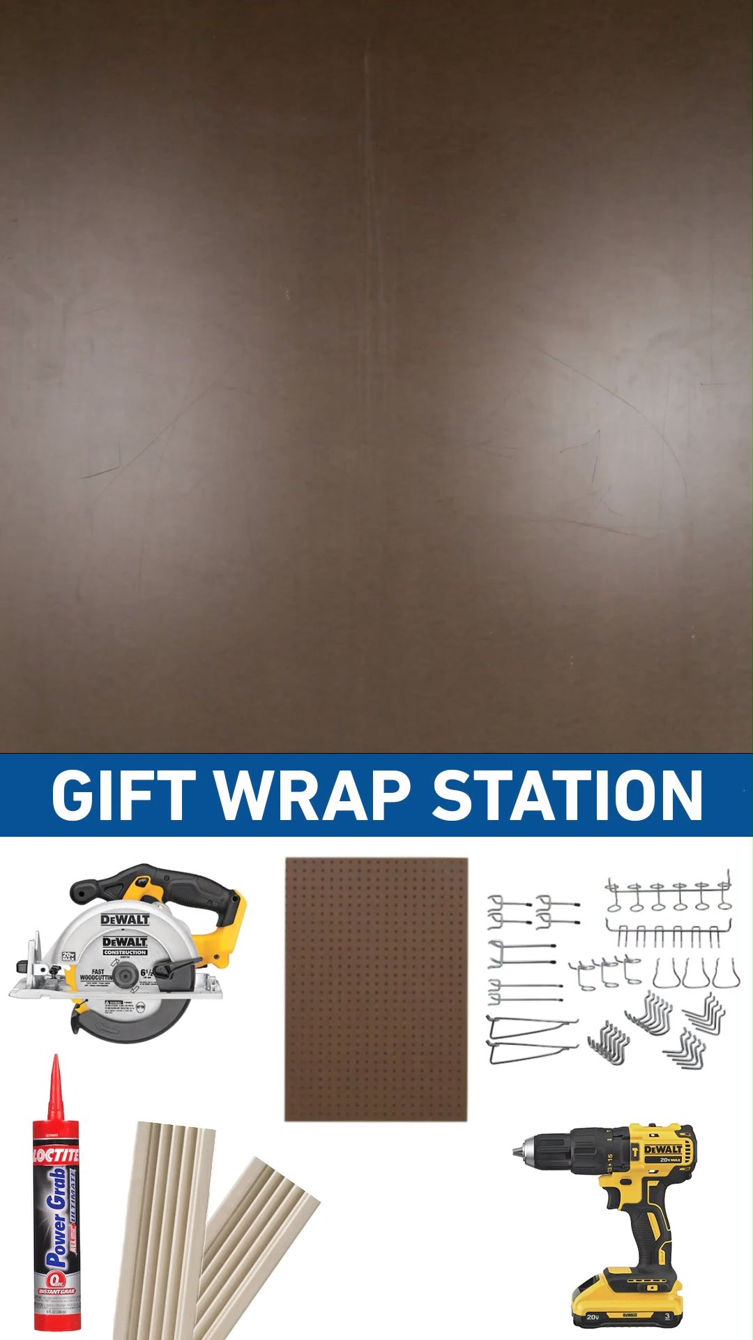 Build Your Own Wrapping Station