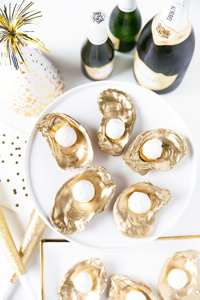 Champagne Truffles on the Half Shell | Pizzazzerie