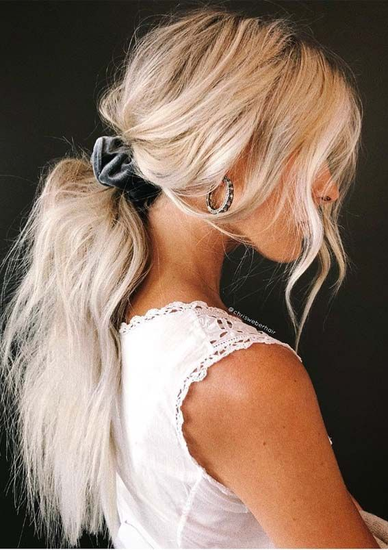 Looking for best ideas of ponytails for unique look? No need to browse any more just see our latest ideas and styles of ponytail hairstyles for long hair to flaunt in year 2019.