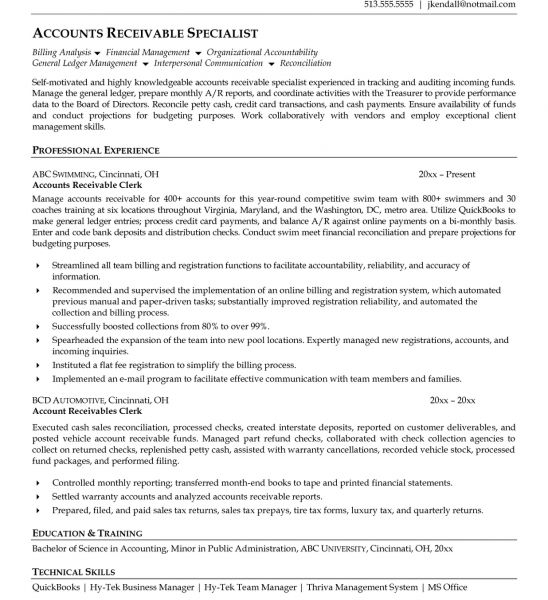 how to write a resume for clerical