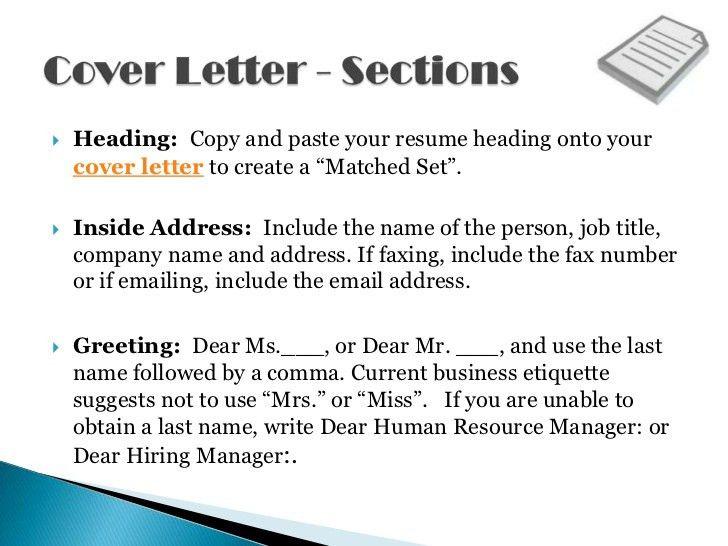 resume heading examples