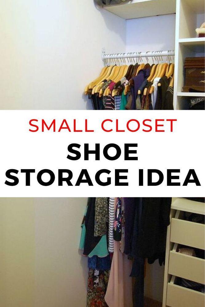 DIY Small Closet Organization Idea