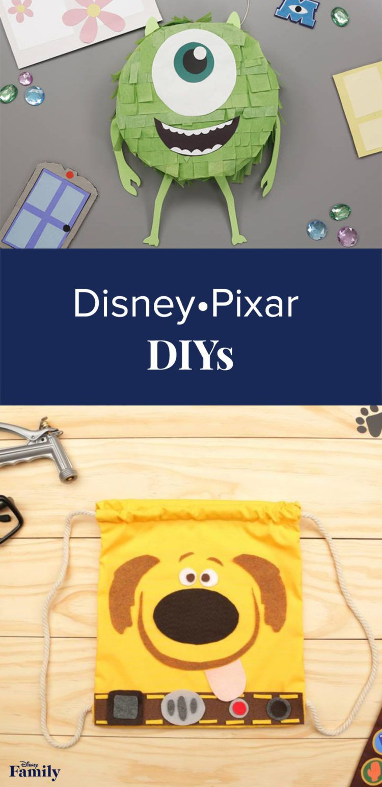 With summer vacation just around the corner, gear up for tons of family fun in the sun. What better way to get the season started than with Disney•Pixar DIYs? From a Dug Backpack toFinding Dory Welcome Mat, you and your little ones will have a blast crafting these items inspired by some of your favorite films. Click to see the Disney•Pixar craft ideas.