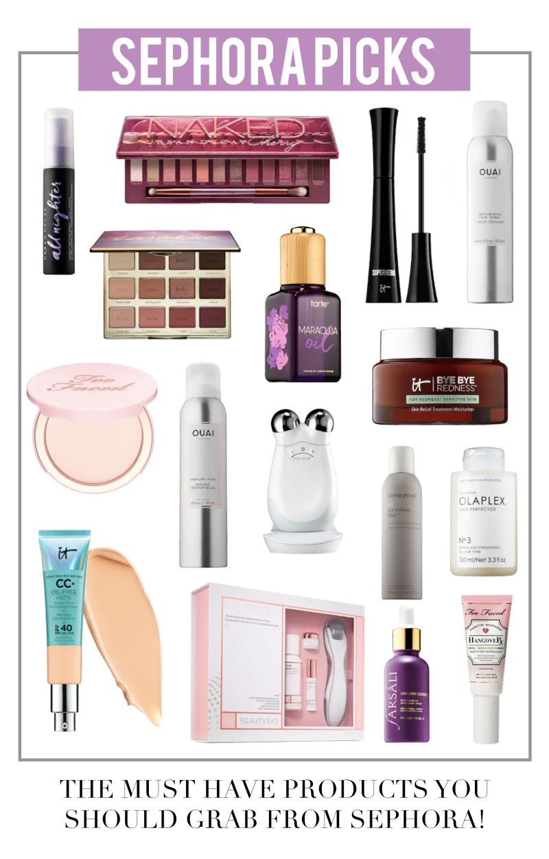 Everything you could and SHOULD grab from the Sephora VIB sale!