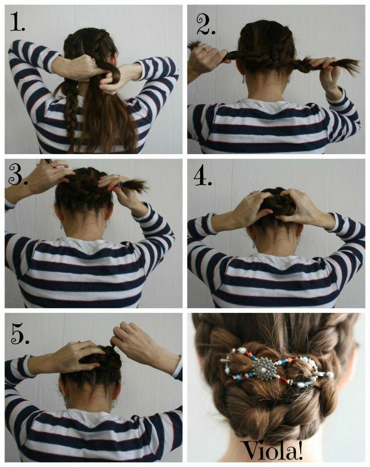 Dutch Braid Hair Tutorial plus video.