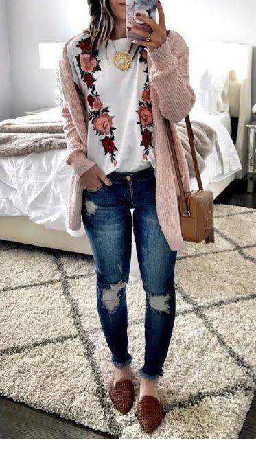 Nice floral top design