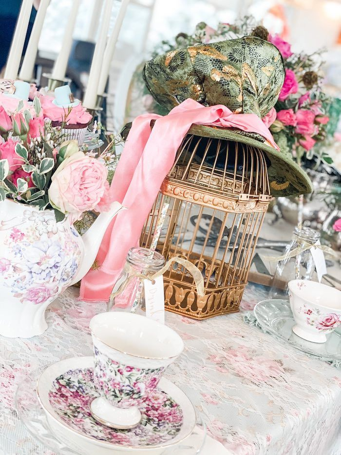 Alice in Wonderland Tea Party | Kara's Party Ideas