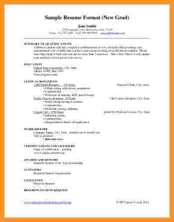 New Graduate Nursing Resume Examples New Registered Nurse Resume - telemetry rn resume