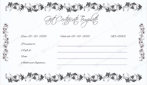 Donation gift certificate template insrenterprises donation gift certificate template yadclub Image collections