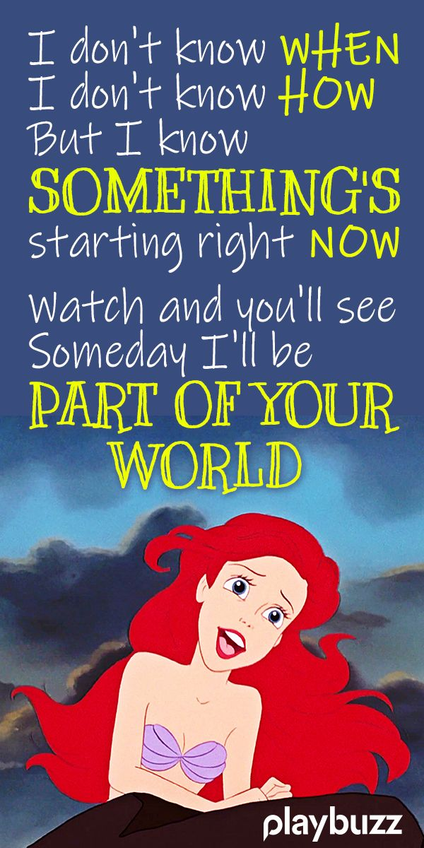Can You Match The Disney Character To The Song They Sing
